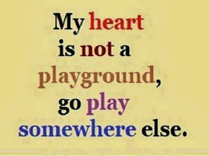 Dont Play With My Heart Quote Quotes Heart Quotes Sayings