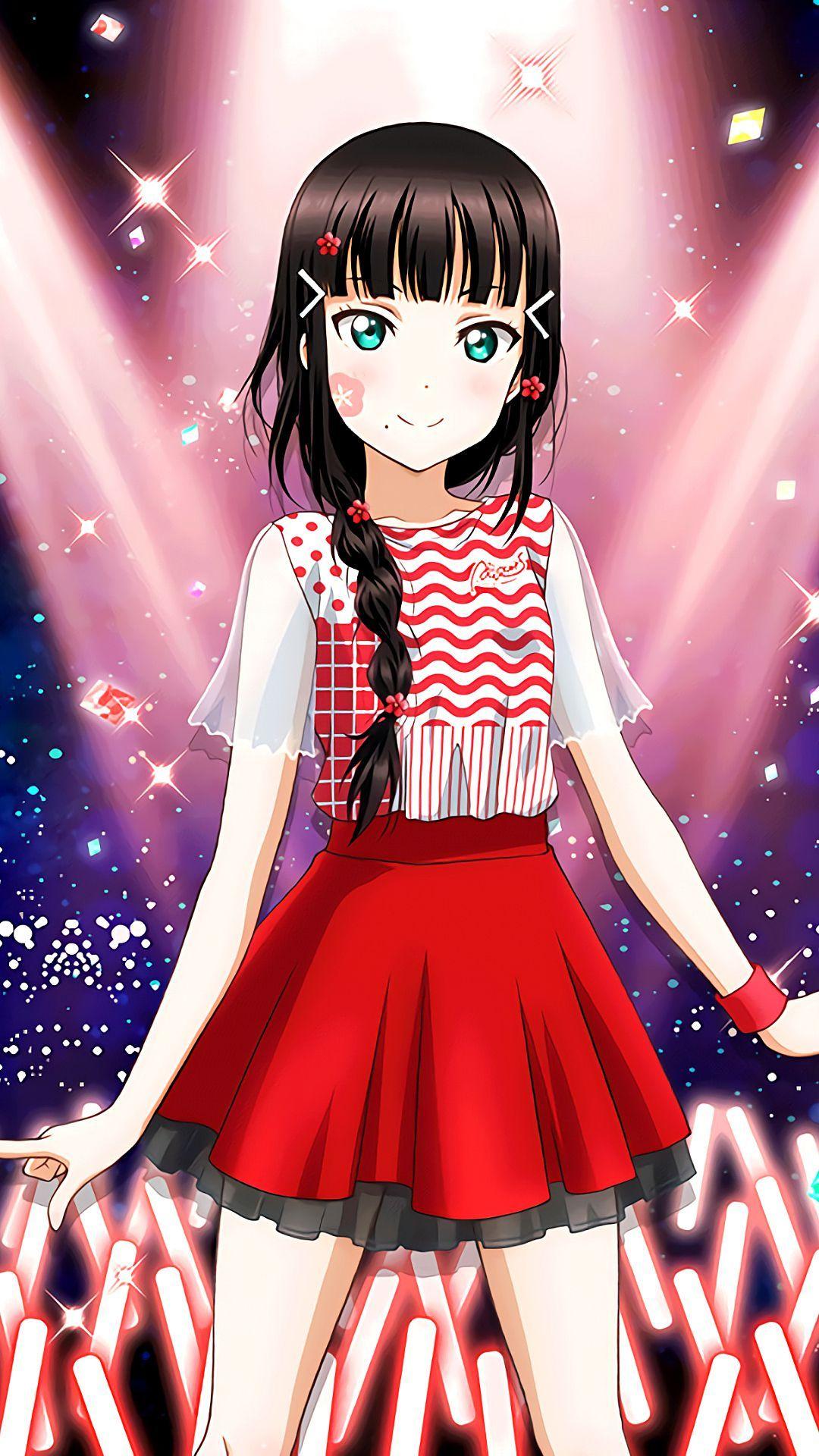 黒澤ダイヤiphone壁紙 Androidスマホ用画像 美しいアニメガール