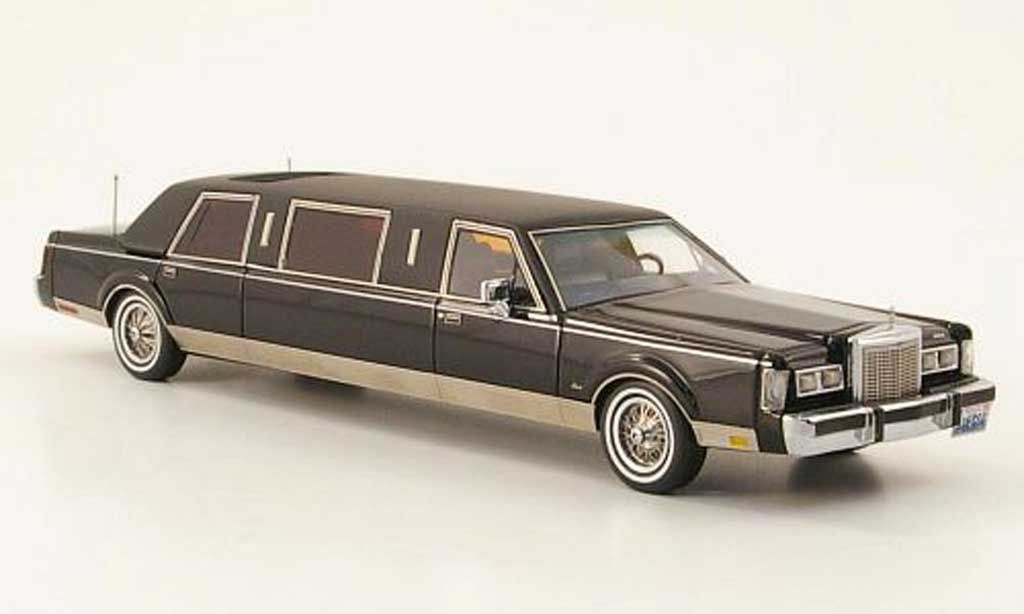 Lincoln Town Car 1985 Formal Stretch Limousine Neo 1 43 Diecast