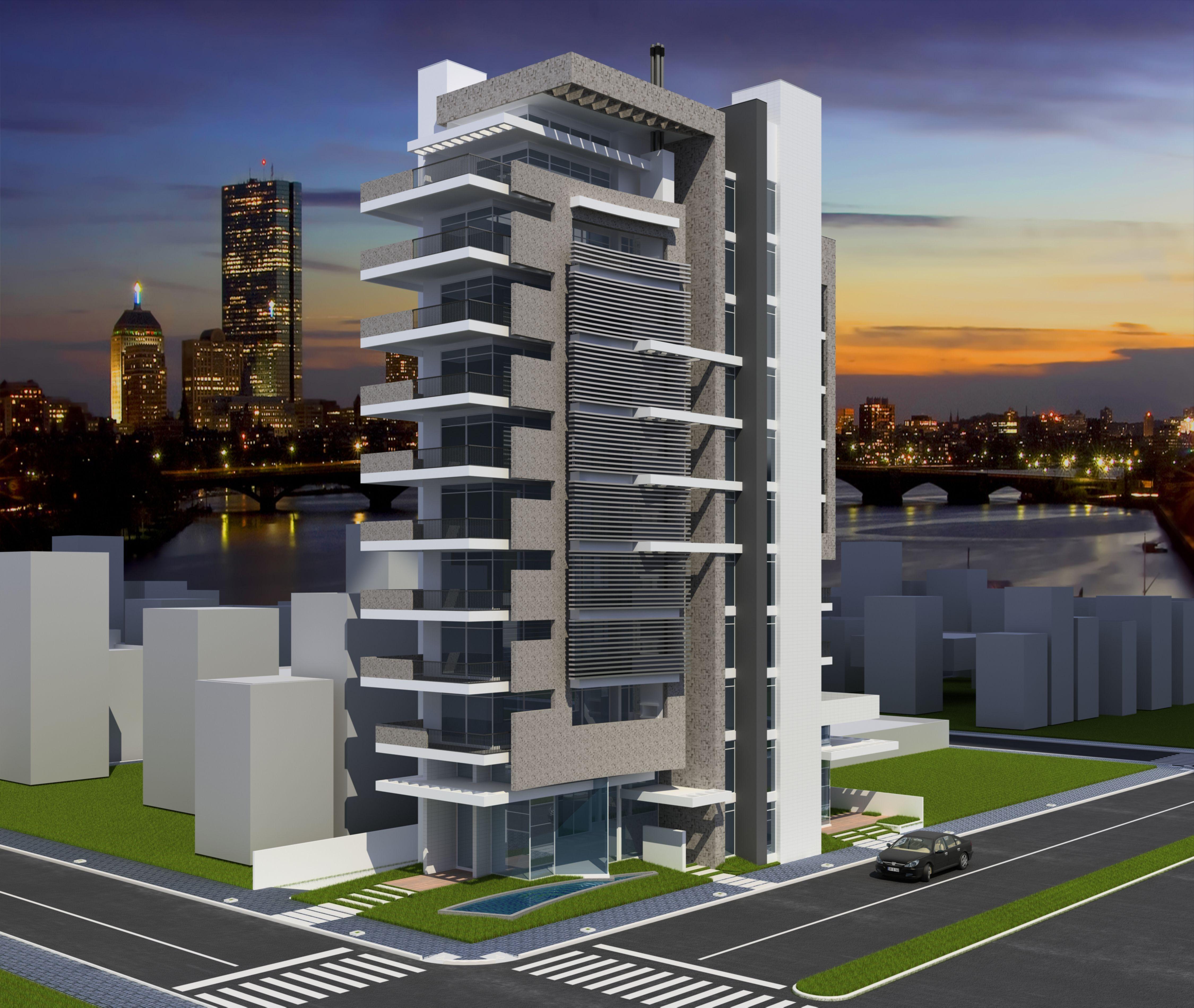 d7ec3d693ea Edifício Residencial e Comercial em Toledo - Pr.