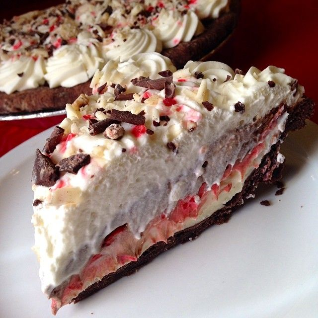 Peppermint Cream Pie. Have you had your tastebuds blown away recently?