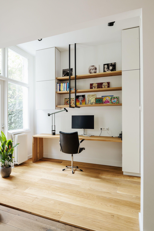 Ongekend Maatwerk in steen, staal en massief hout | Kantoor aan huis decor HO-75