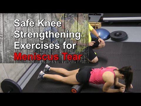 5 safe knee strengthening exercises for meniscus tear