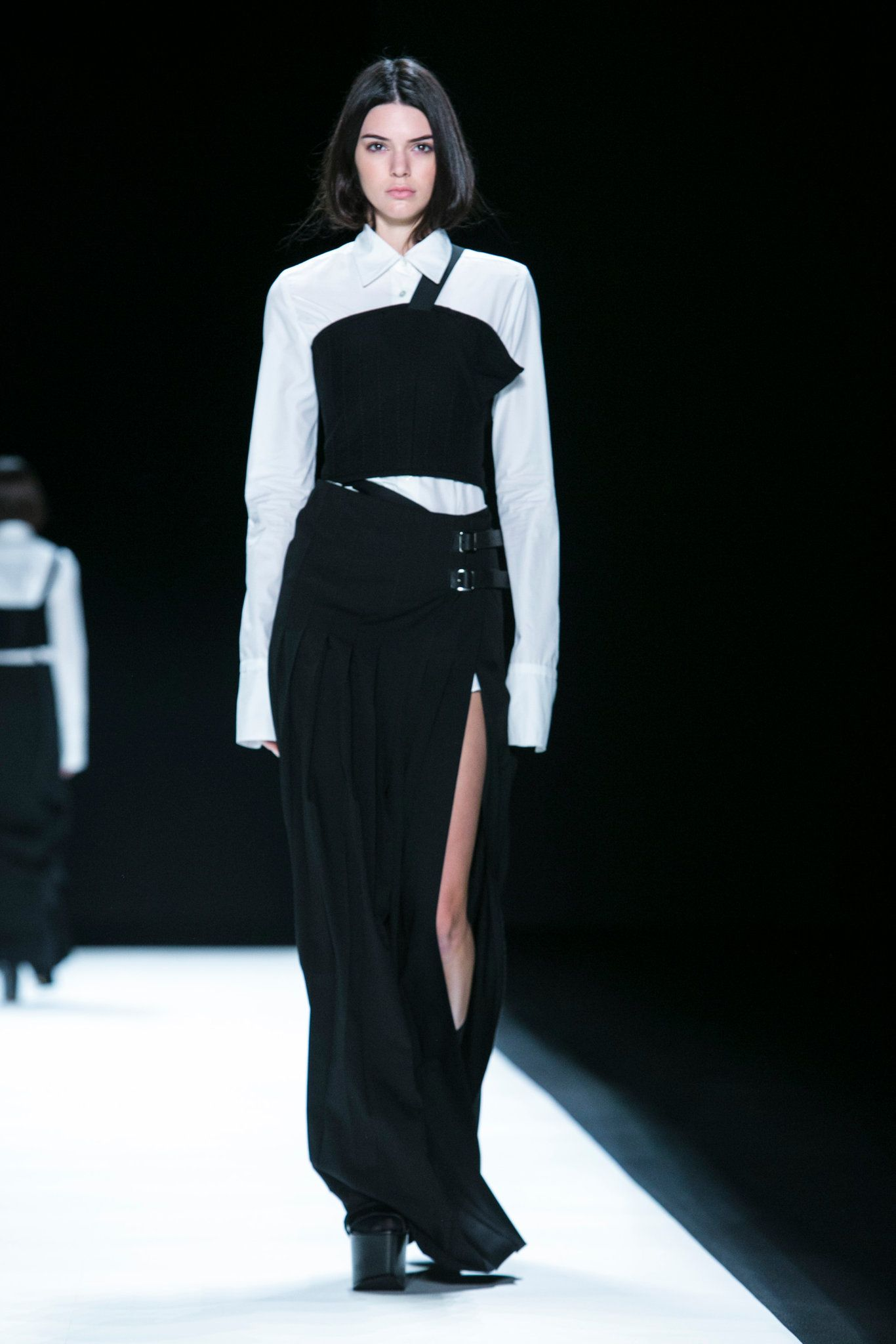 Ms. Wang presents her fall collection.