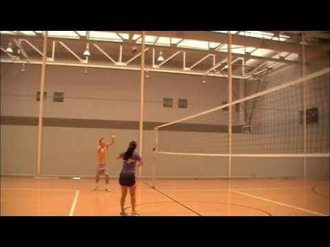 Physics Of Volleyball The Concepts Behind The Pass Set And Serve Physics Volleyball Basketball Court