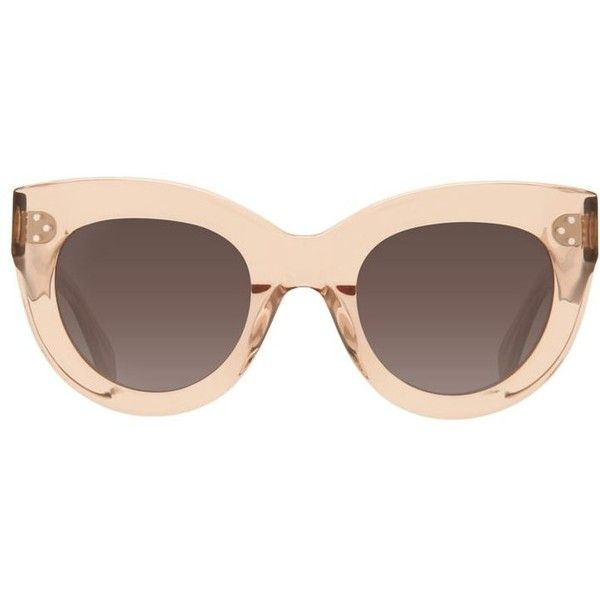 48bbdda8632b Céline Caty Sunglasses ( 330) ❤ liked on Polyvore featuring accessories