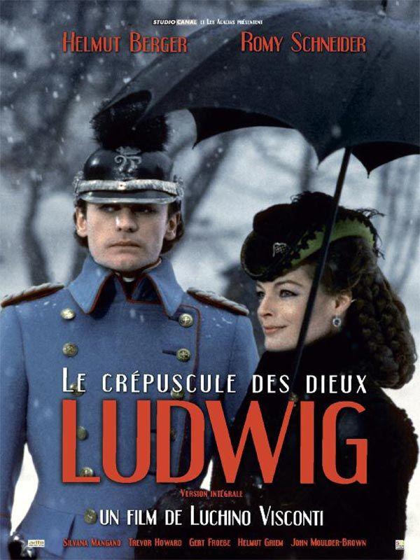 Ludwig Le Crepuscule Des Dieux Film Affiche Film Romy Schneider