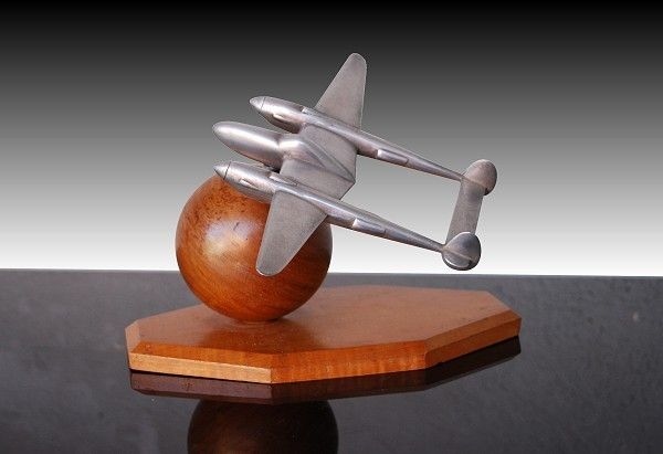 Art Deco Lockheed P38