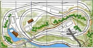 A good model railroad track plan. an up and over plus tunnel More