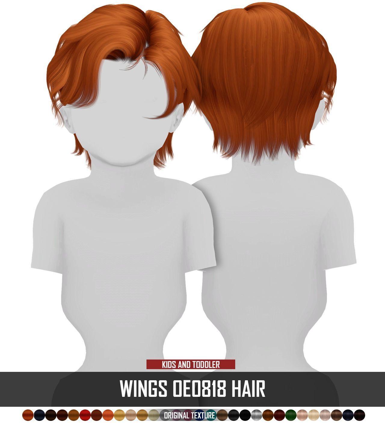 Photo of Sims 4 Hairs ~ Coupure Electrique: Männliche Haare von Kindern und Kleinkindern nachstrukturi…