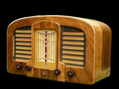 1940s Timber Peter Pan Vintage Radio Antique Radio Retro Radios