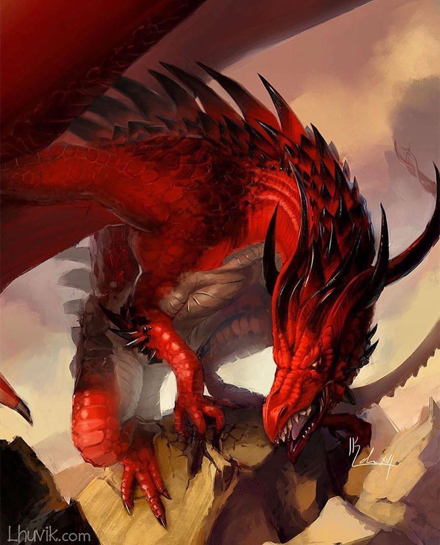 48+ Dragons art information