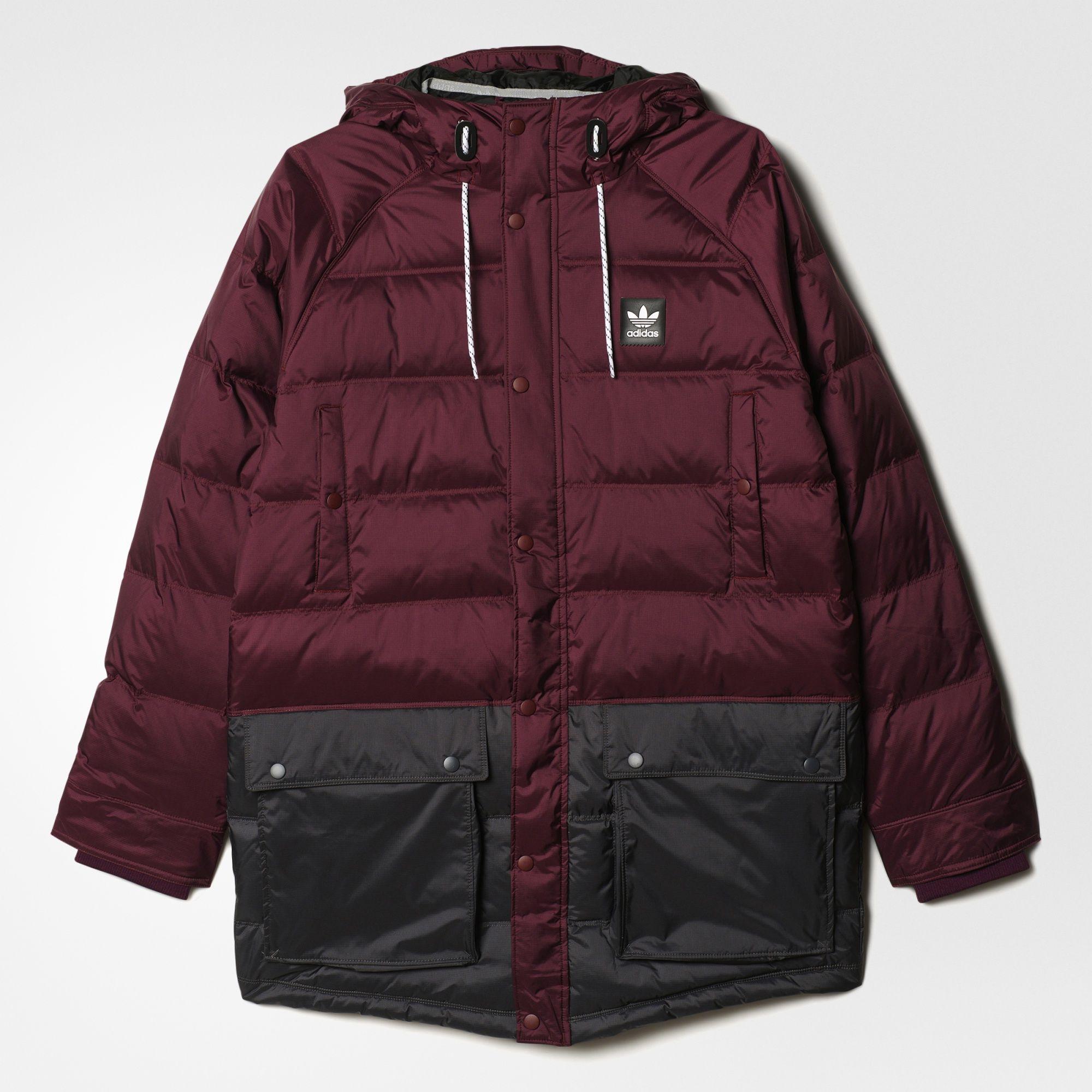 mensaje Varios procedimiento  adidas - Chamarra de Invierno Originals | Jackets, Winter jackets, Military  jacket