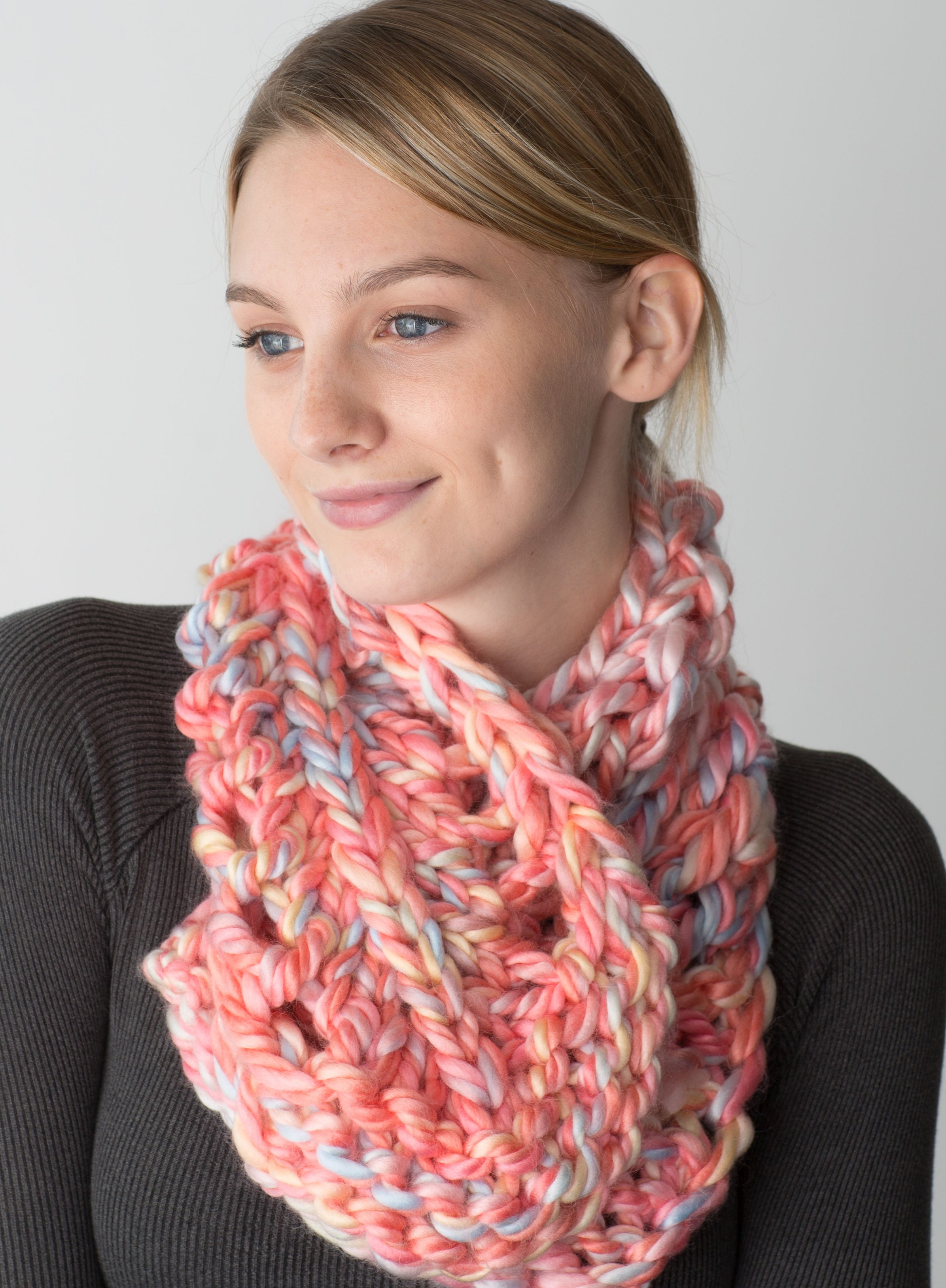 Zippy Dragontail Scarflet Free Pattern | Free Knitting Loom Patterns ...