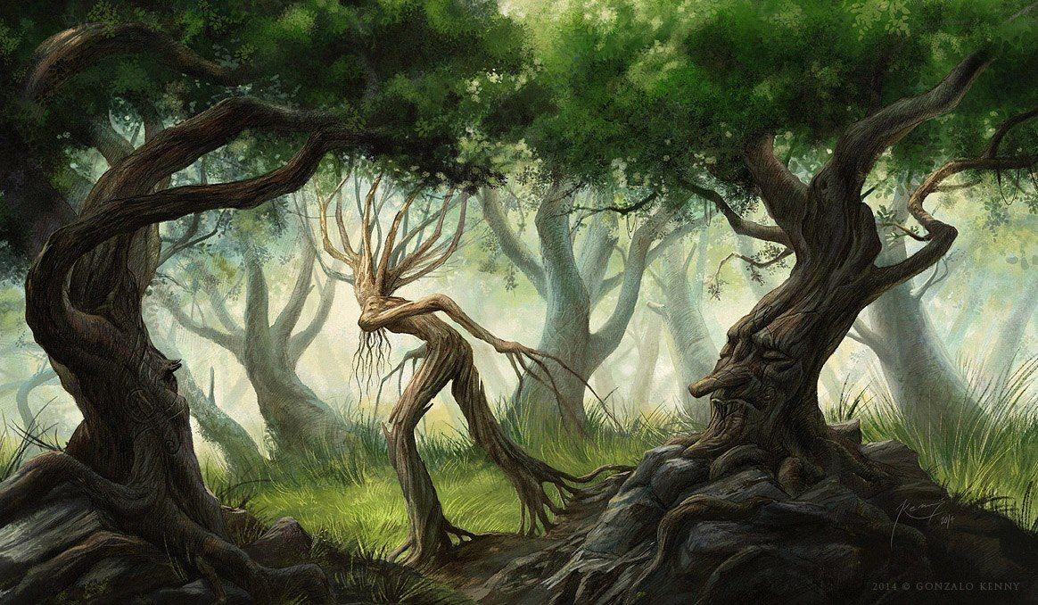 картинки деревьев из властелина колец были