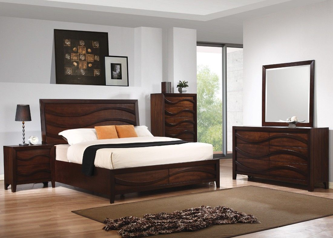 Contemporary Bedroom Collection with Modern Sets Modern
