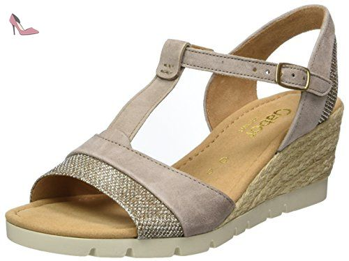 Gabor Shoes Fashion, Ballerines Femme - Blanc (Weiss 21), 35.5 EU