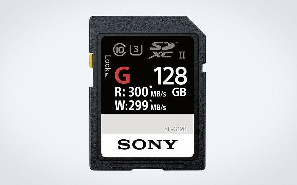Sonys nye SF-G Series er verdens hurtigste SD-kort