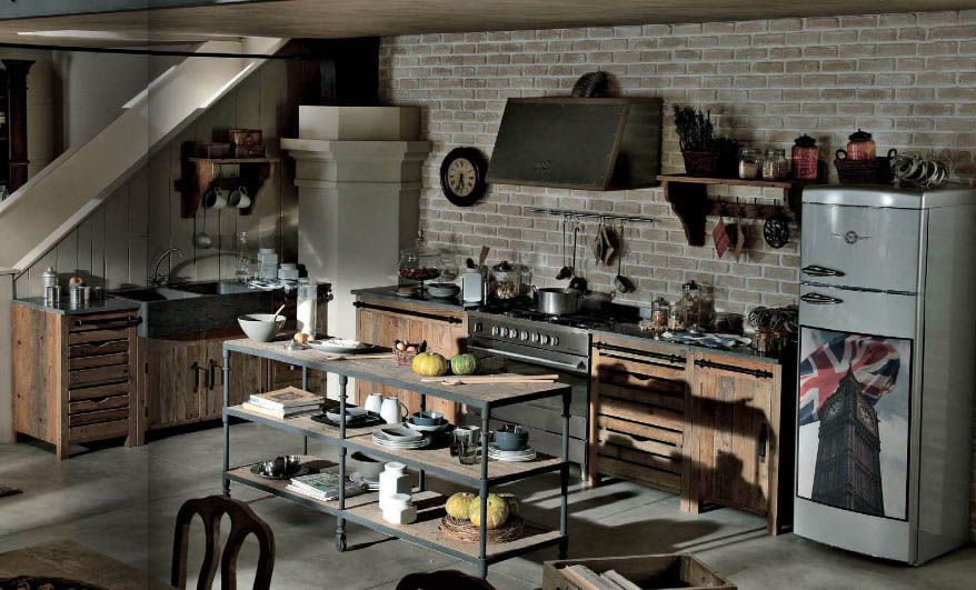 cucina dialma brown da : i tesori coloniali reggio emilia ... - Cucine Dialma Brown