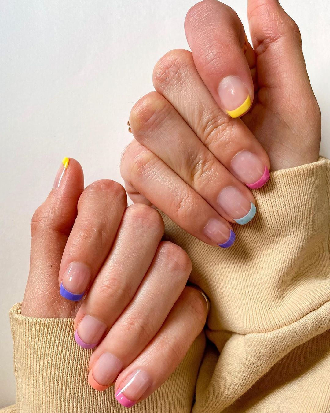 50 Hottest Natural And Lovely Short Square Nails For Spring Nails 2020 Fashion Girl S Blog In 2020 Manicure Nail Designs French Manicure Nails French Manicure Nail Designs