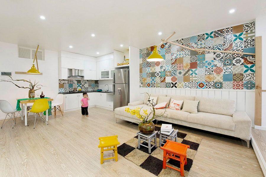 Soggiorno Vintage ~ Arredare un open space cucina soggiorno vintage 08 interior design