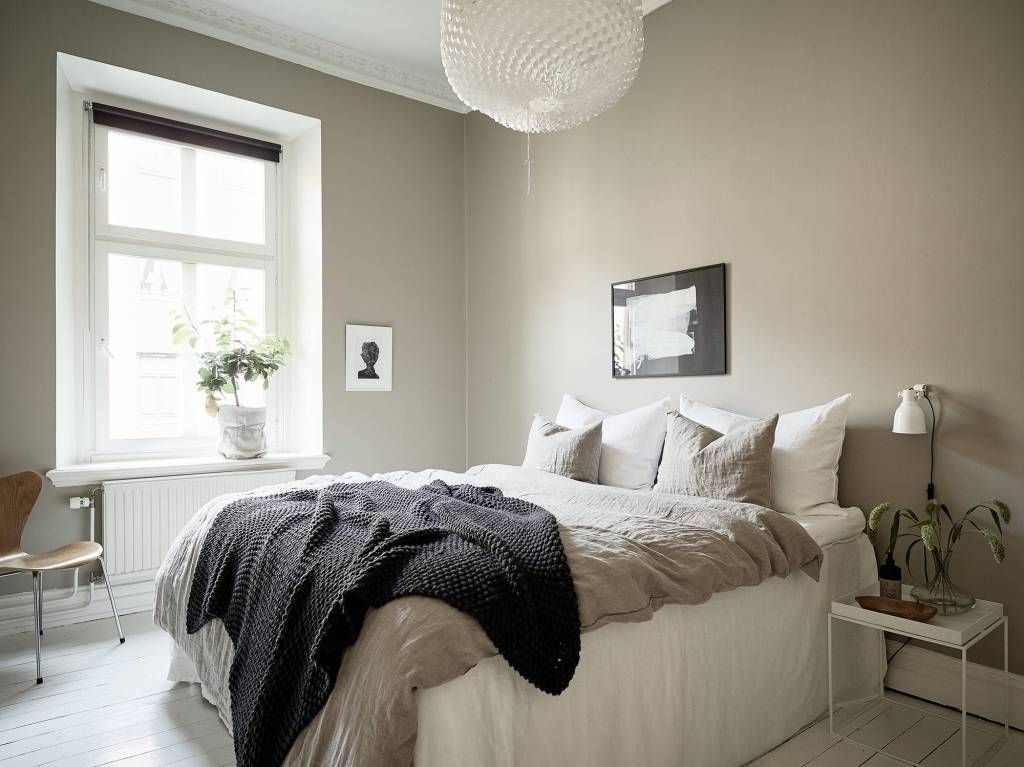 Home In A Natural Palette Via Coco Lapine Design Blog Beige Walls Bedroom Bedroom Color Schemes Home Decor