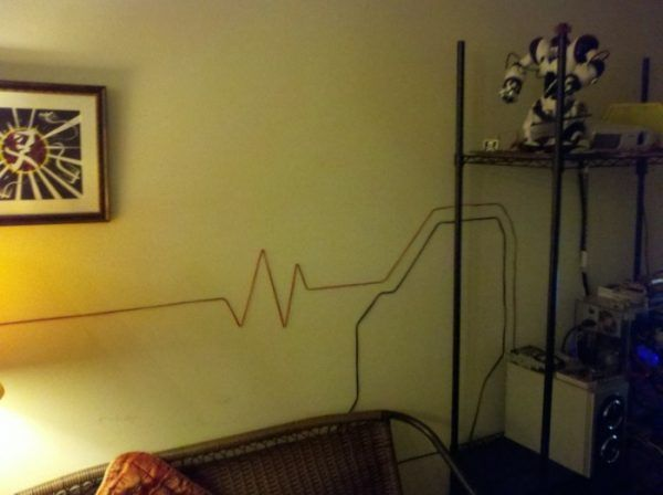 Why To Hide Cables - Transform Them Into Beautiful Wall Art | Hide ...