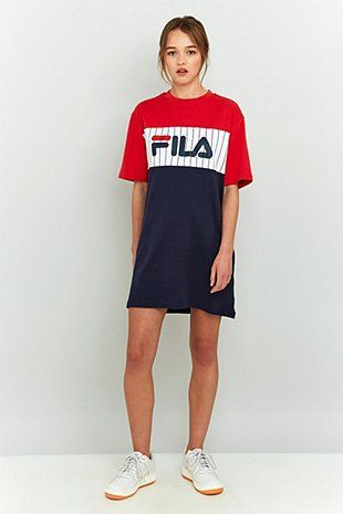 d04c4cc9dd6e Fila Ruby T-Shirt Dress