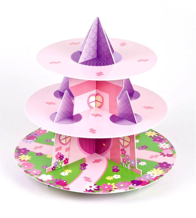 Culpitt PRINCESS 3 Tier Cupcake Cake Stand Display ...