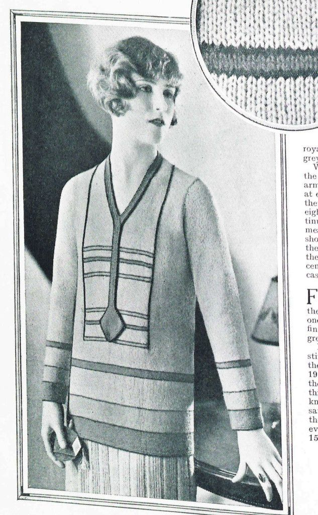 free vintage knitting pattern from Sunny Stitcher page 2-2 ...