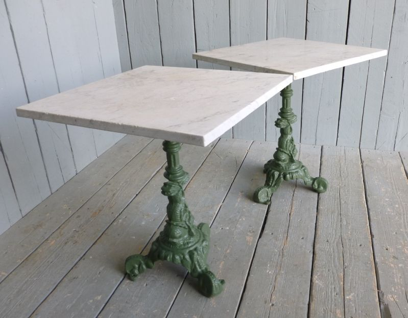Marble Topped Tables,antique table,zinc tables,Farmhouse