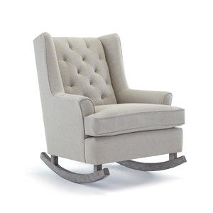 Paisley Wingback Rocking Chair Nursery Design Pinterest