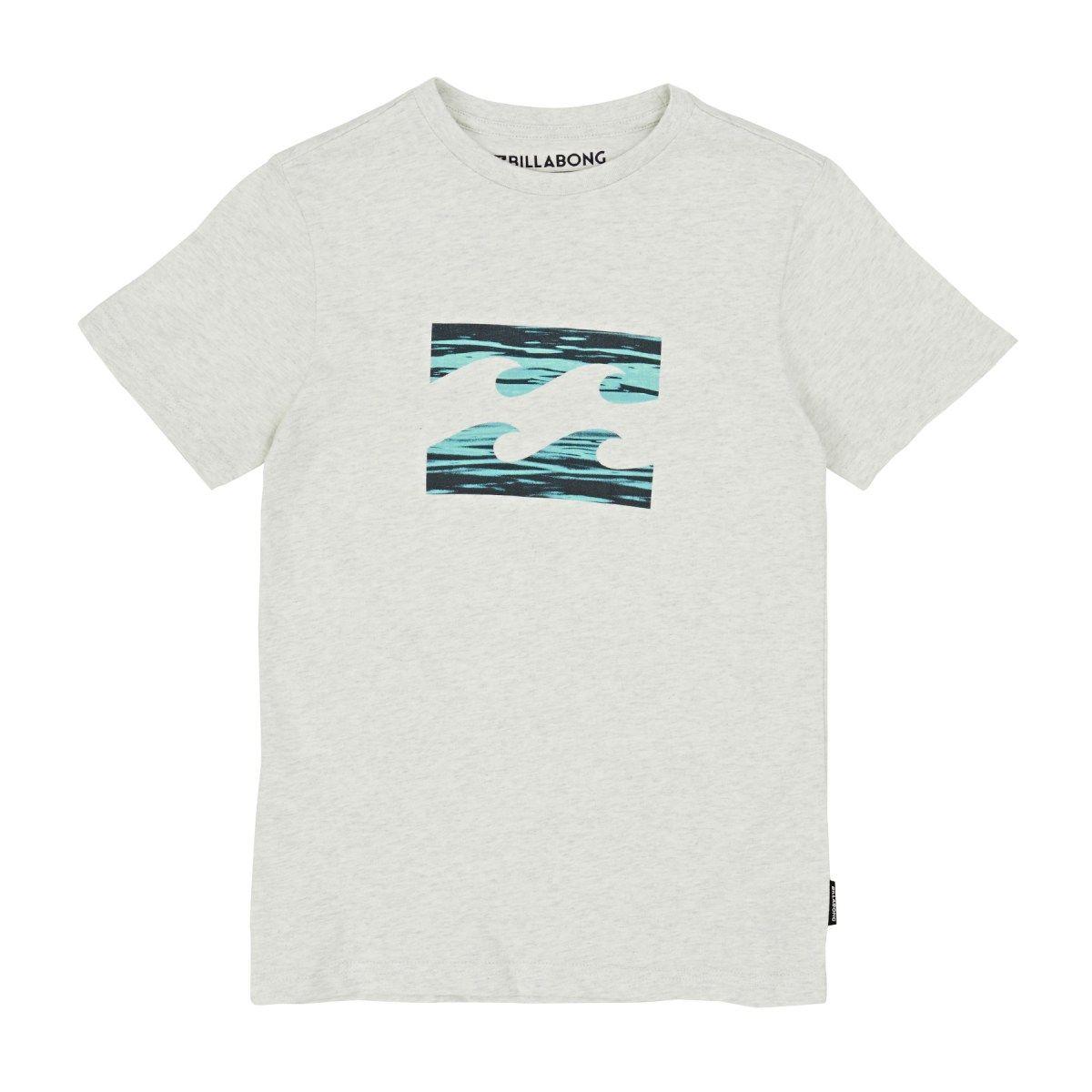 Billabong T-shirts - Billabong Team Wave Boys T-shirt - Light Grey Heat