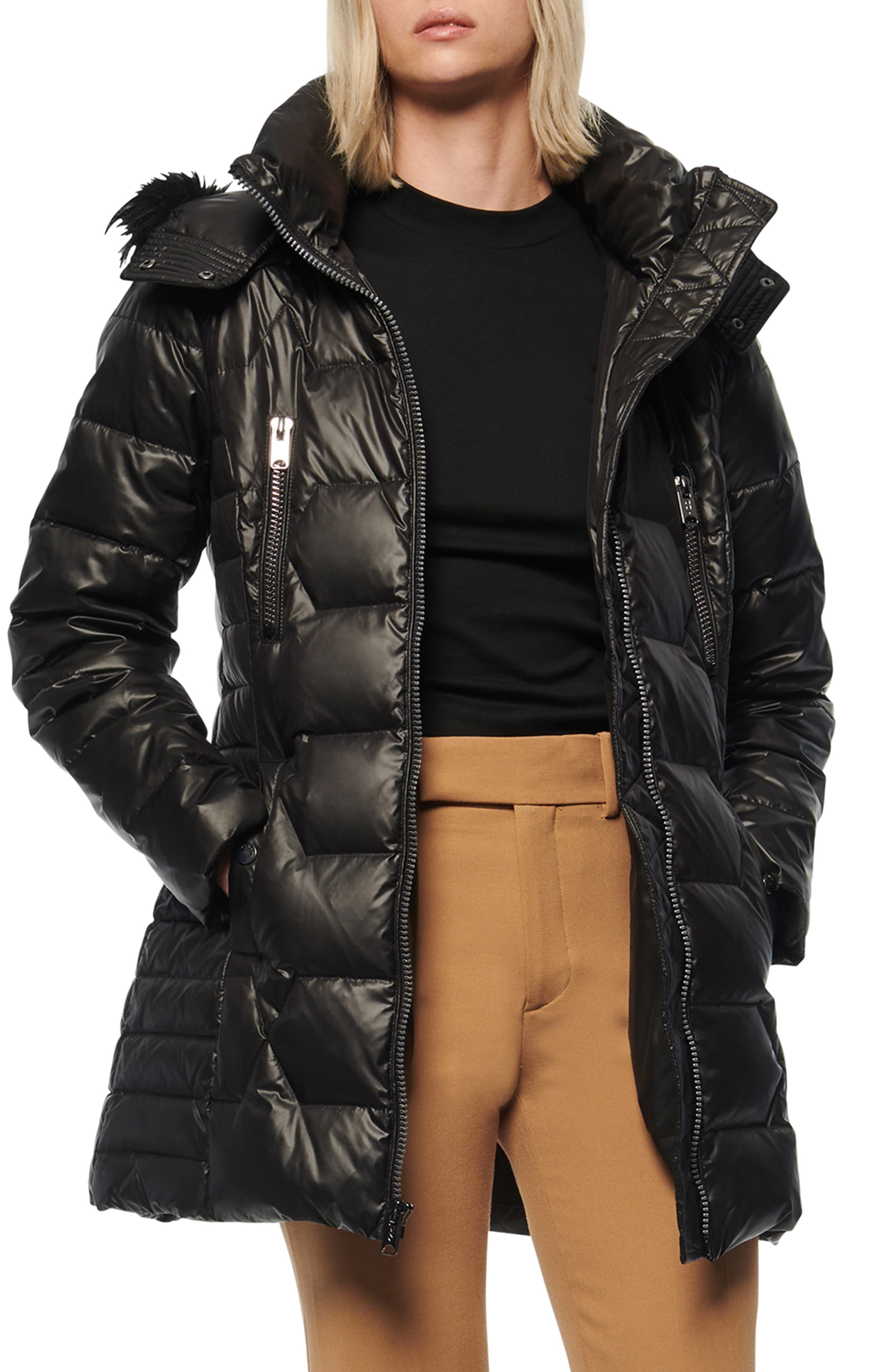 Andrew Marc Pomona Faux Fur Trim Down Puffer Jacket Nordstrom Rack In 2021 Marc New York Quilted Puffer Jacket Puffer Jackets [ 4048 x 2640 Pixel ]