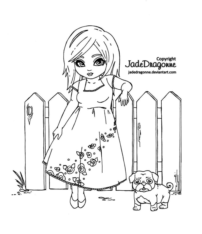 Picket Fences - Lineart by JadeDragonne.deviantart.com on ...