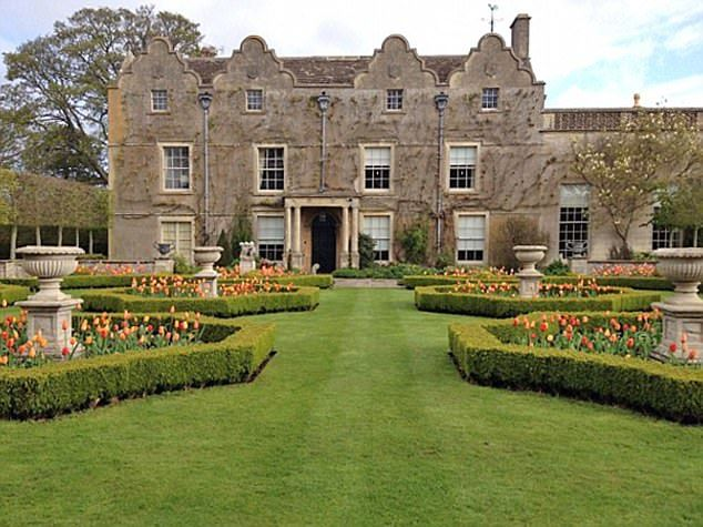 Lyegrove House (pictured), a sprawling Jacobean mansion set in 18 acres of countryside that neighbours Prince Charles' Highgrove estate, was bought by Maxine and Gerald in 1993