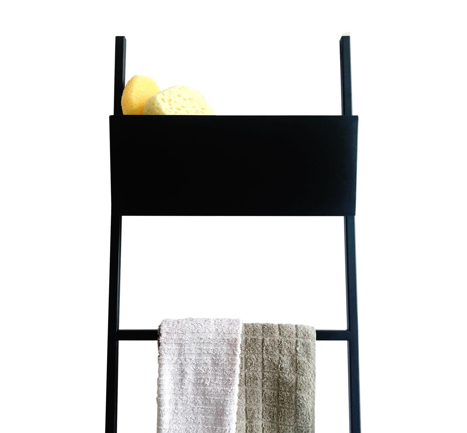 Appendi Asciugamani Da Muro scaletta-porta-salviette-e-asciugamano-da-bagno-con