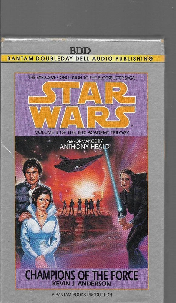 star wars champions of the force audiobooks 2 cassettes books