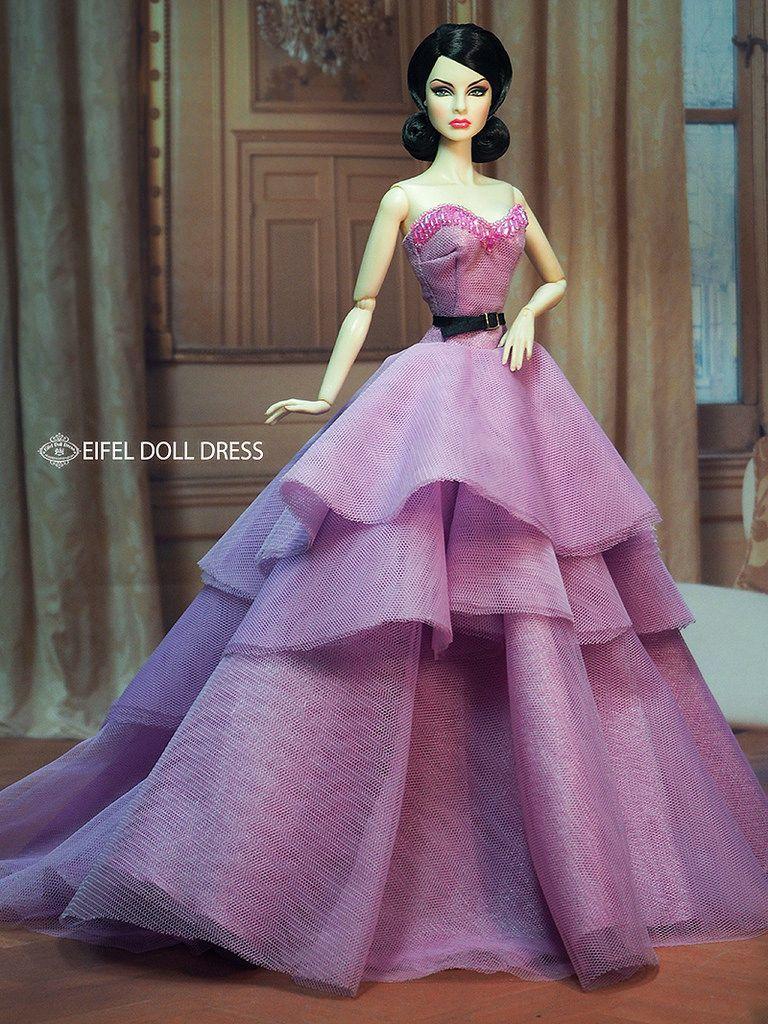 New Dress for sell EFDD | Puppen, Ballkleider und Barbie