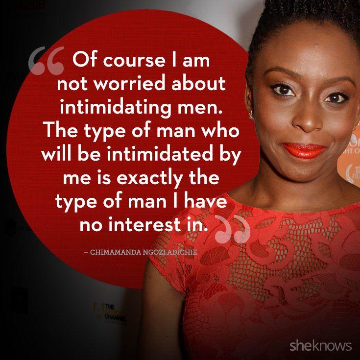 Chimamanda Ngozi Adichie Quotes Magnificent 48 Powerful Quotes From Amazing Women Around The World Empowering