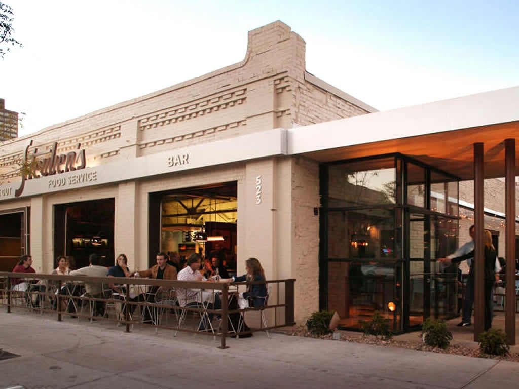 Outdoor Patio Dining Hospitality Of Steubens Restaurant Denver Exterior Lobster Rolls Environmental