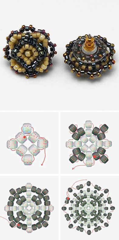How To Make Bead Weaving Earrings Click On Image See