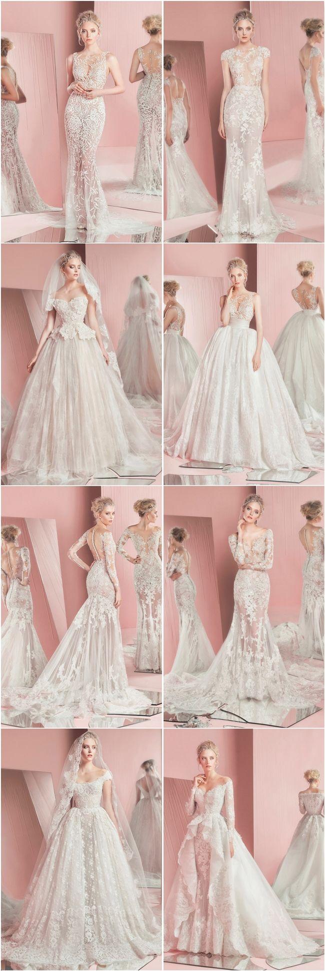 Zuhair Murad Bridal Spring 2016 Wedding Dresses | Vestidos de novia ...