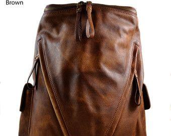 44c6bb4795f3 Luxury leather backpack travel bag weekender sports bag gym bag ...