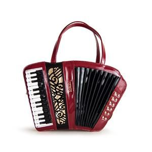 Get the trendiest handbag of the season! This musical instrument bag will help you think of the music in 80s and 90s. Order now: http://www.cutegig.com/vintage-accordion-style-handbag #Vintage #AccordionStyleHandbag #Uniquedesign #Handmadebag #Retrostyle #giftforwomen