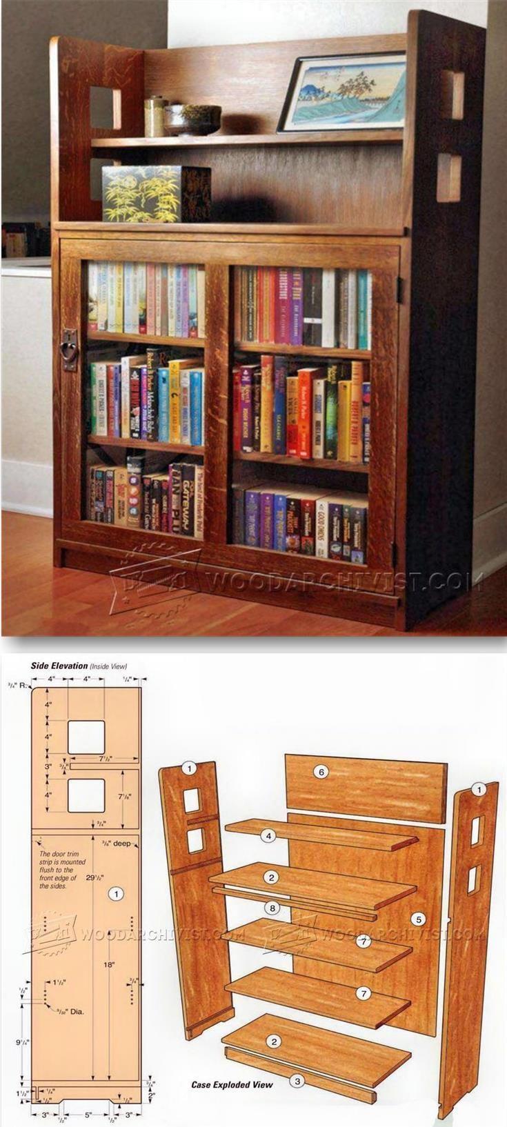 Bookcase Plans Furniture Plans And Projects Woodarchivist Com  # Menuiserie:Download Images Meubles Tv