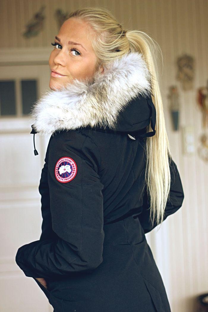 Canada Goose Rossclair Parka Blackdresscanada Canada Goose Women Best Winter Coats Winter Coats Women