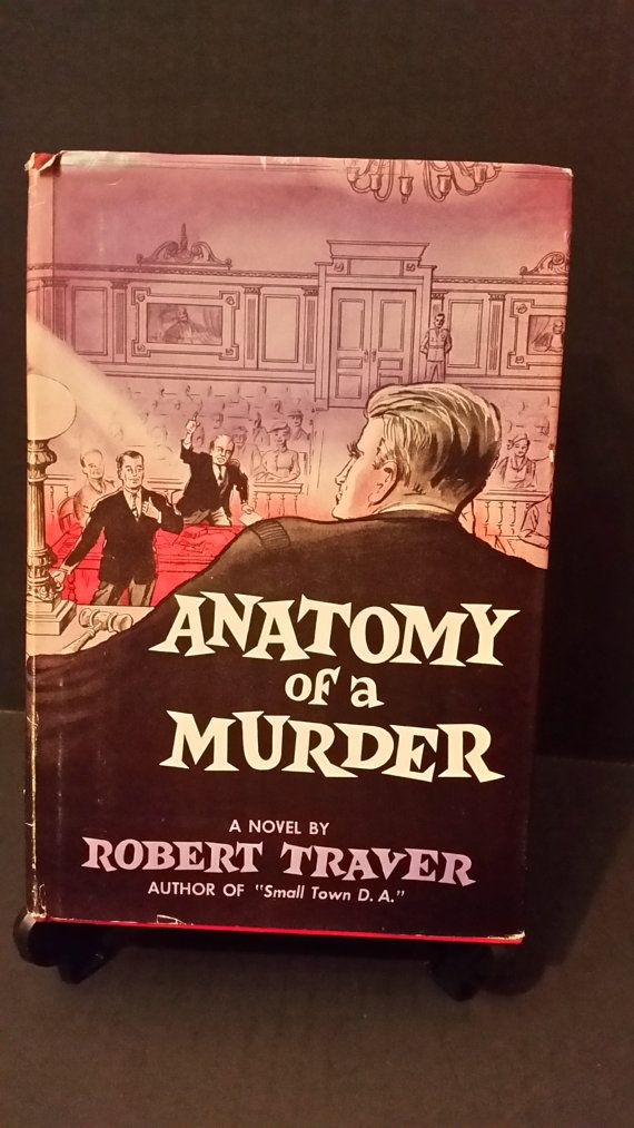 Anatomy of a Murder by Robert Traver Vintage Book Club Edition ...