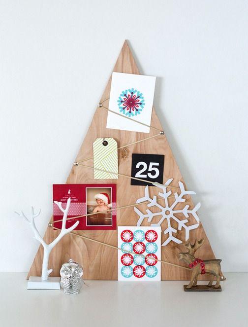 DIY greeting card display ideas