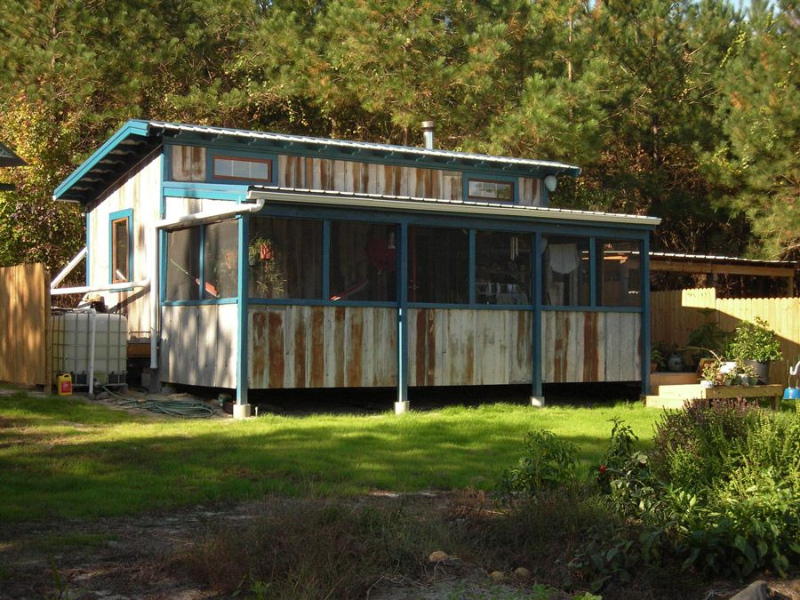Nice idea to expand space after permanently placing my for Shed with screened porch